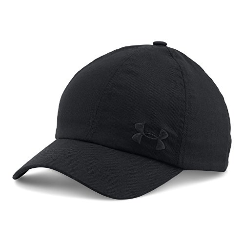 Under Armour Women's Armour Cap, Black/Black, One Size