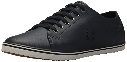 Fred Perry Fred Perry Navy Kingston Kingston Sneaker Leather Leather Sneaker qTIPx