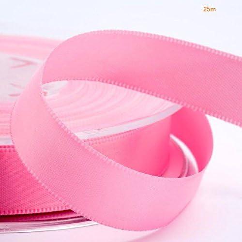 EMI CRAFT 25M Cinta de Raso 25 mm de ancho Rosa