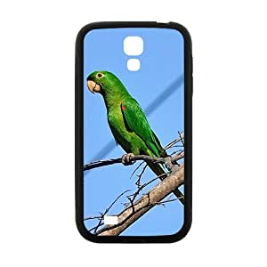 Green Parrot Hight Quality Plastic Case for Samsung Galaxy S4