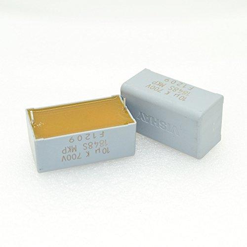 (2pcs VISHAY (ERO) MKP1848 10uF/700V 10% Polypropylene Film Capacitor-5931)