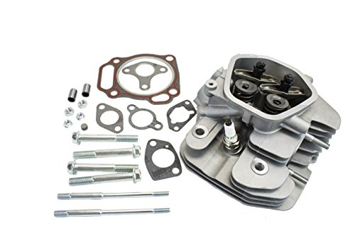 Cylinder Heads Fully Assembled - Everest Assembled Cylinder Head Kit Compatible with Honda GX340 GX390 Rockers Valves Springs Gaskets