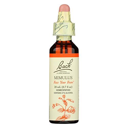 Bach Flower Remedies Essence Mimulus -- 0.7 fl oz (Essence Mimulus Flower)