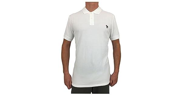 Paul Smith - Polo - para Hombre Blanco Blanco Small: Amazon.es ...