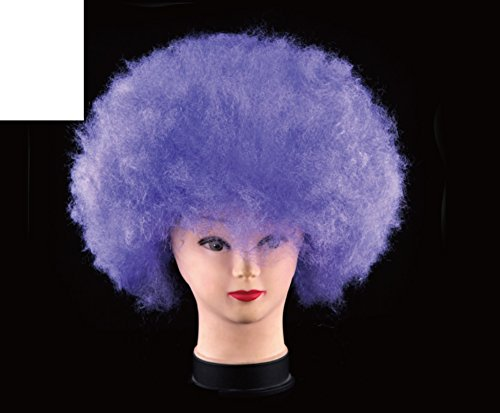 [Halloween party head/ curly clown wig/ encryption with light wig-B] (Scary Fairy Costumes)