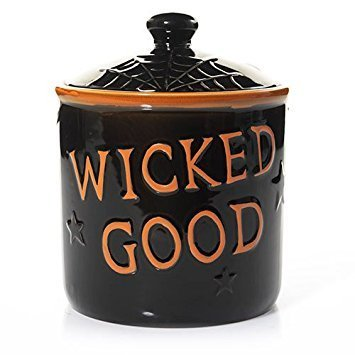 Yankee Candle 2016 Boney Bunch Wicked Good Jar Holder Cookie Jar - Halloween Jar