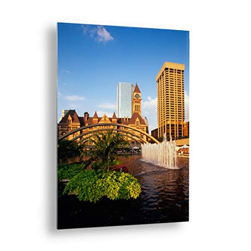 Photos by Getty Images Old City Hall, Nathan Phillips Square, Toronto, Ontario, Canada - Aluminum, Mounted, 28x40 (Hall City Canada)