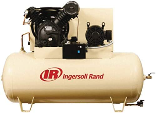 Amazon.com: 120 Gallon 10 HP Fully Packaged Type-30 Reciprocating Air Compressor Voltage: 460V/3: Home Improvement