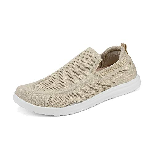 Bruno Marc Men's Canvas Slip On Loafers Walking Shoes Stretch Casual Sneakers