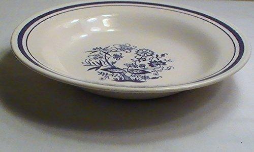 Oxford Brazil Blue Onion Rim Soup Bowls - Set of 4