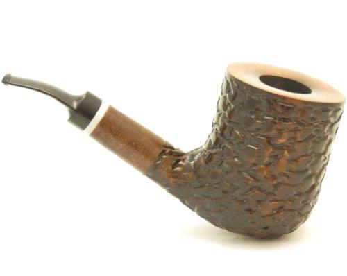 Mr. Brog Billard Tobacco Pipe - Mason Walnut - Pear Wood Roots - Hand Made
