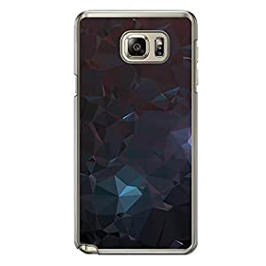 Loud Universe Samsung Galaxy Note 5 Geometrical Printing Files A Geo 4 Printed Transparent Edge Case - Multi Color