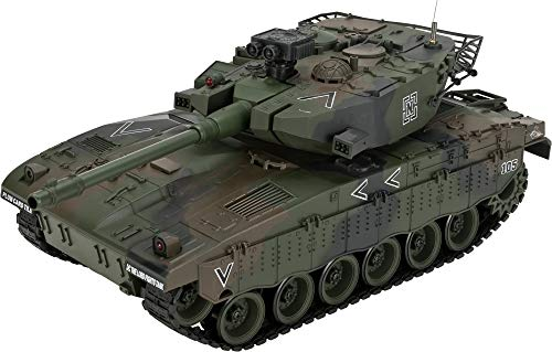 Evike 1:20 Scale RC Airsoft BB Firing Battle Tank (Color: Israeli Merkava/Woodland Camo) ()