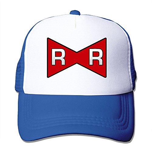 V&Vstaen Adult Dragon Ball Red Ribbon Army Symbol RoyalBlue Adjustable Mesh - Paul Glasses Rudd