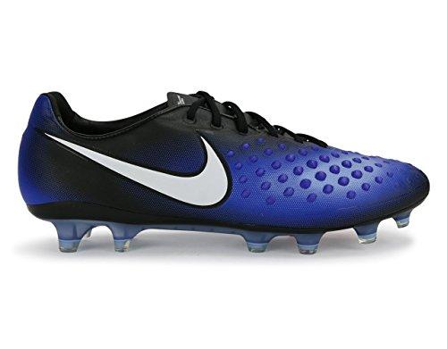 Nike Mens Magista Opus Ii Fg Svart / Vit / Paramount Blå Fotbollsskor