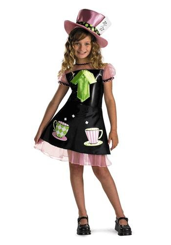 The Mad Hatter Girl Costumes - Girl's Mad Hatter Costume