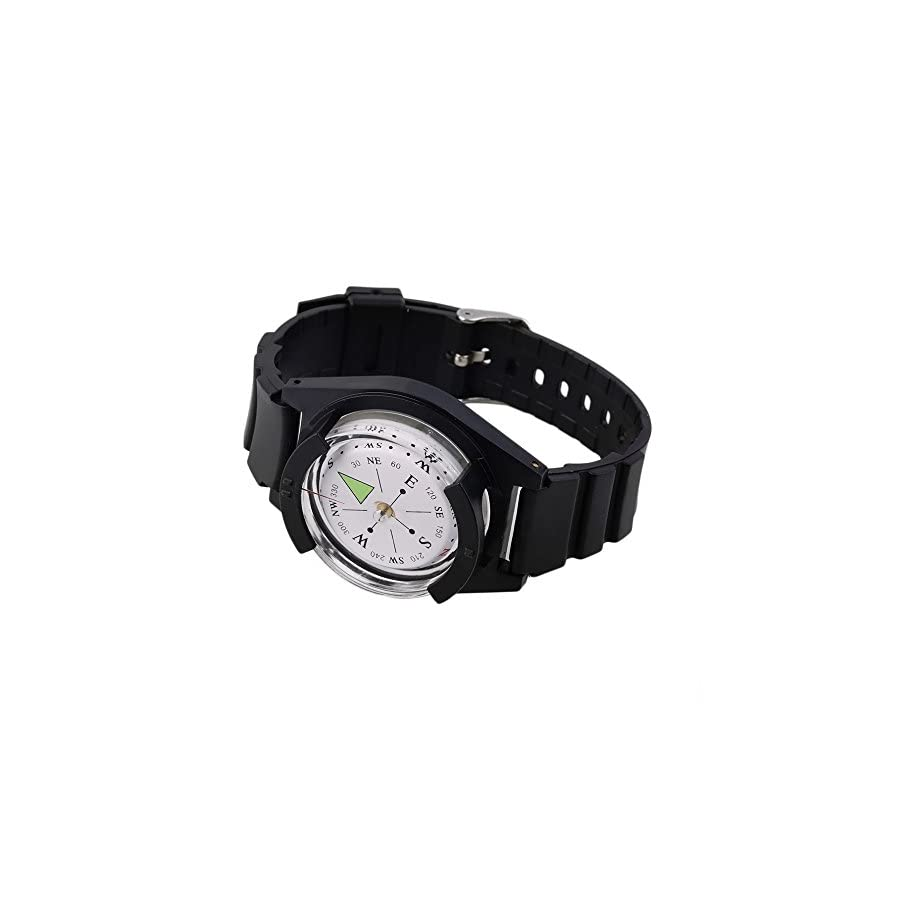 Survival Gear/Kit: Wrist Compass: Great Map Compass For Your Next Outdoor Survival Adventure. Whether It Is Camping, Hiking, Fishing, Hunting or Exploring With Your Map