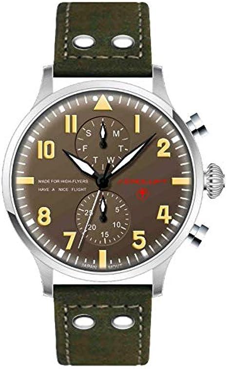 AEROLUFT - Reloj DE PILOTO Type 1 Eddie RICKENBACKER: Amazon.es ...