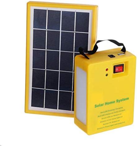 Multifunktionale Generator Stromversorgung Solar-Panel-Generator Kit USB 5V-Ladegerät