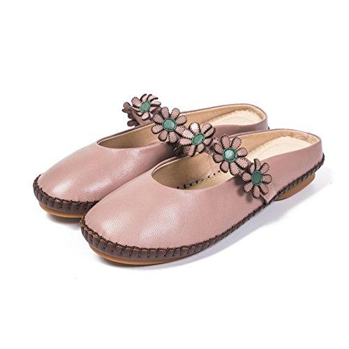 Fondo Piatto Rosa Qingchunhuangtang Sandali Semi Antiscivolo Con Trainato Pantofole rYxWgWPX8w