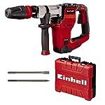 Einhell-Martello-demolitore-TE-DH-12-1050-W-12-J-portautensili-SDS-max-impugnatura-antivibrazioni-impugnatura-supplementare-regolabile-cavo-gomma-4-m-incl-scalpello-punta-e-piattoincl-E-box