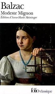 Modeste Mignon par Balzac