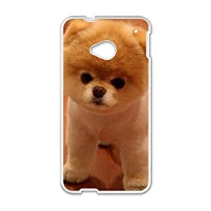 Carrie Diy Boo the Dog cell phone case cover for uykaNhVfQru HTC One M7