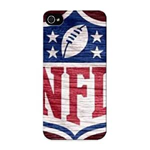 First-class Case Cover Series For Iphone 5/5s Dual Protection Cover Nfl Red Weathered Wood NltaCC-2184-JHbhw