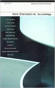 Book New Poetries: v.3: Vol 3