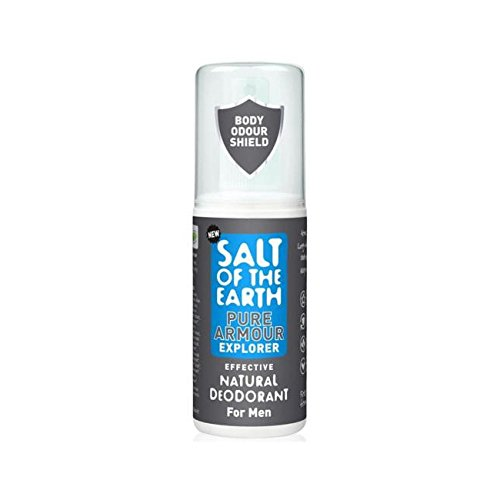 Salt of The Earth Pure Armour Explorer Natural Deodorant for Men ()