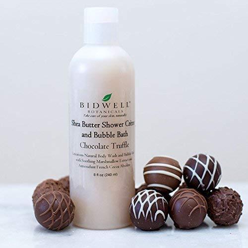 Chocolate Truffle Shea Butter Shower Creme Body Wash and Bubble Bath