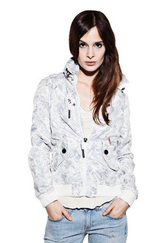 Khujo - Stay, leichte Jacke in Weiß