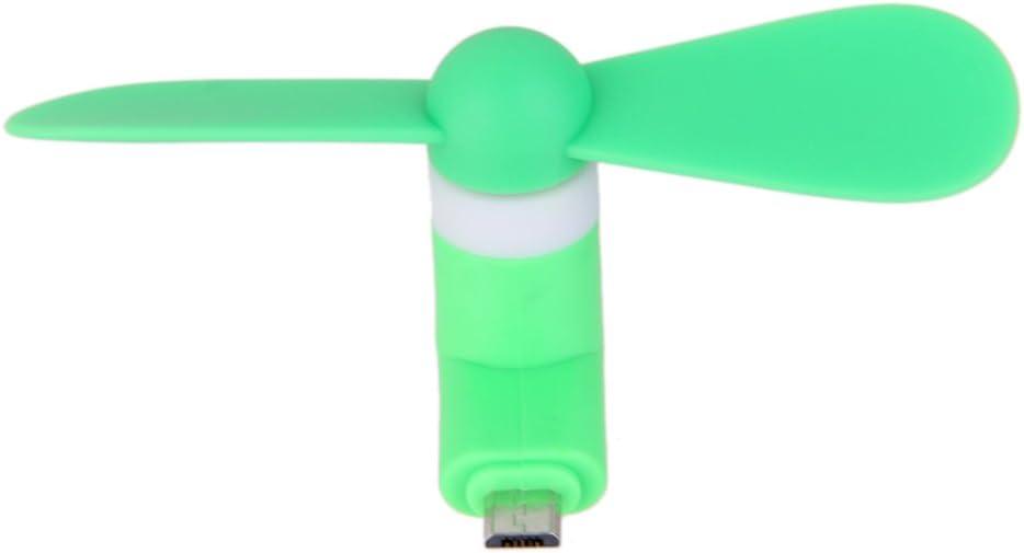 Mini Ventilador Eléctrico Micro USB Del Teléfono Móvil Para El ...