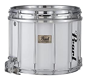 pearl competitor high tension marching snare drum white 14 x 12 in high tension. Black Bedroom Furniture Sets. Home Design Ideas