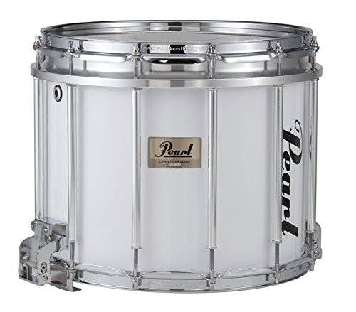 (Pearl Competitor High-Tension Marching Snare Drum White 14 x 12 in. High)