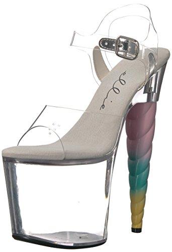Scarpe Ellie Womens 777-dashing Platform Sandal Chiaro