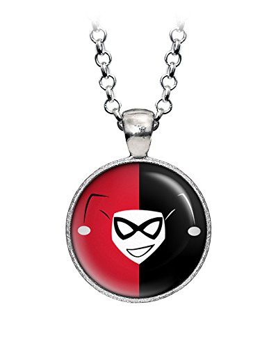 Harley Quinn Necklace, Suicide Squad Earrings, Batman Dark Knight Pendant, Villian Jewelry, Joker Ring, Justice League Birthday Gift, Avengers Bridal Party (Joker Pendant)