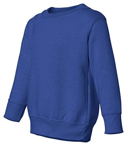 Toddler/Juvenile Crew Neck Sweatshirt (Royal) (3T)