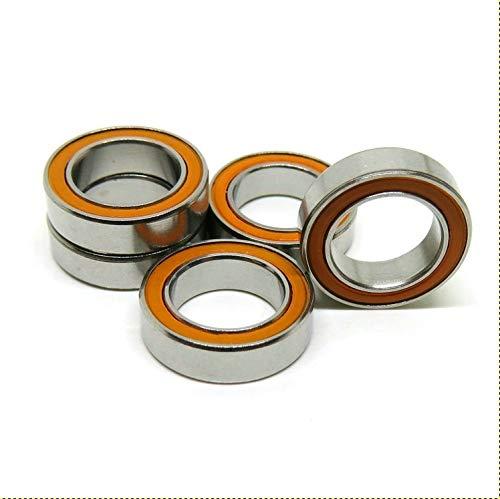 QTY 1 10x15x4 mm S6700-2RS CERAMIC 440c S.Steel Ball Bearing 6700RS ABEC-7