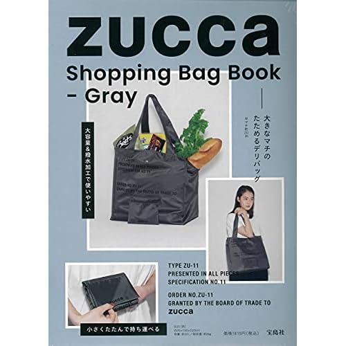 ZUCCa Shopping Bag Book - Gray 画像