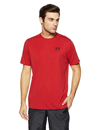 Under Red Rapture Lockup Left shirt Chest Homme black T Armour 4wr6q4