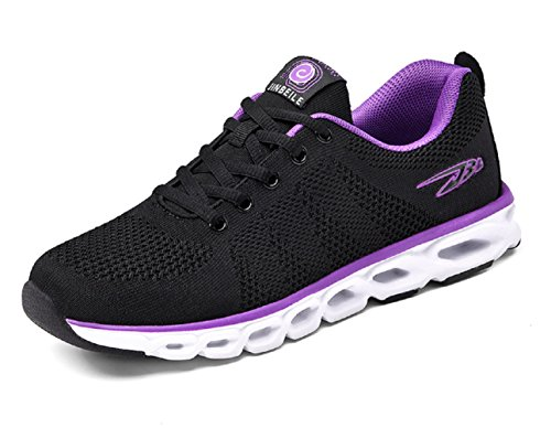 Purple M Men Runner 7 5 US Shoes Black Breathable D Trail For Cushioning Sneaker Lightweight Running 6fvRwq4