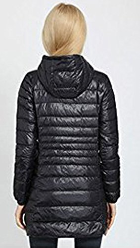 Blackmyth Down Leggero Packable Outwear Lunga Plus Nera Warm Women Winter Size Giacca Coat rxU4nqOrw8