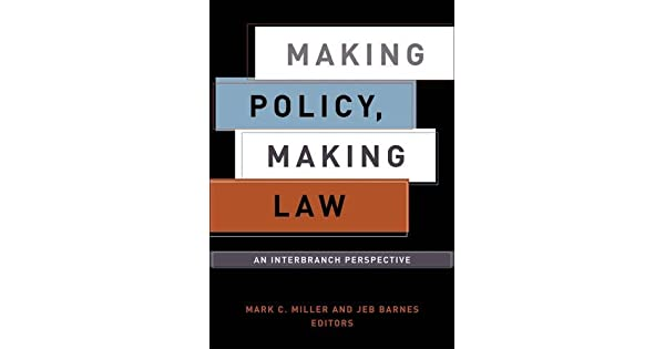Making policy making law an interbranch perspective livros na making policy making law an interbranch perspective livros na amazon brasil 9781589010253 fandeluxe Images