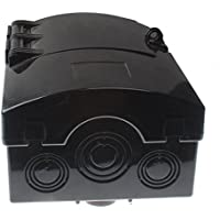 Friday Part FPCDS-30A Non-Metallic/Polycarbonate Enclosure Fused 30 AMP Disconnect Box 240V 1 Phase