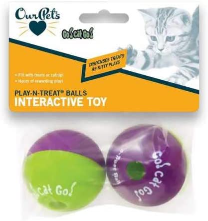 Our Pets Play-N-Treat Ball 2