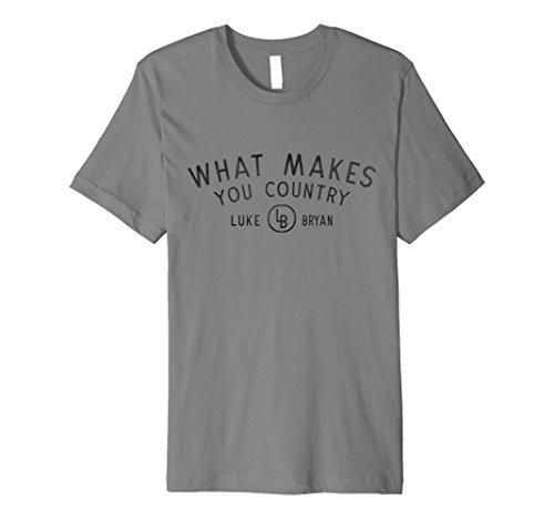 Luke Bryan - What Makes You Country T-Shirt