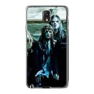 Scratch Resistant Hard Cell-phone Cases For Samsung Galaxy Note3 With Customized Beautiful Megadeth Band Pattern SherriFakhry