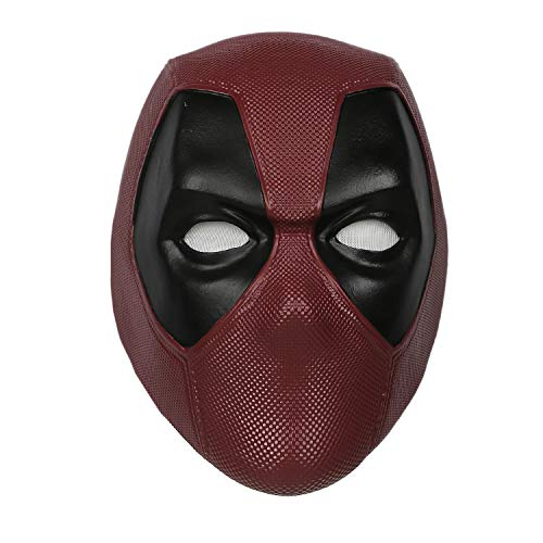 Hotwinds Deluxe DP Mask Helmet PVC Half Face Mask for Halloween Party -