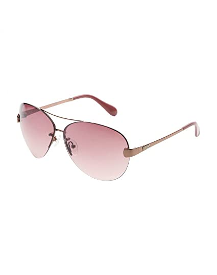 Guess GU 7236 RGLD 52F Designer Sunglasses   Cover Gold 100% Authentic Bnwt  New  Amazon.co.uk  Clothing 544cc62be4f0b